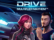 В казино Вулкан на деньги Drive: Multiplier Mayhem