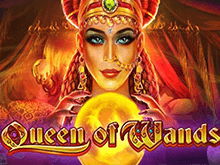 Играть в современный игровой автомат на деньги Queen of Wands